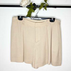 ❤️ Club Monaco Texture Weaved Viscose Shorts